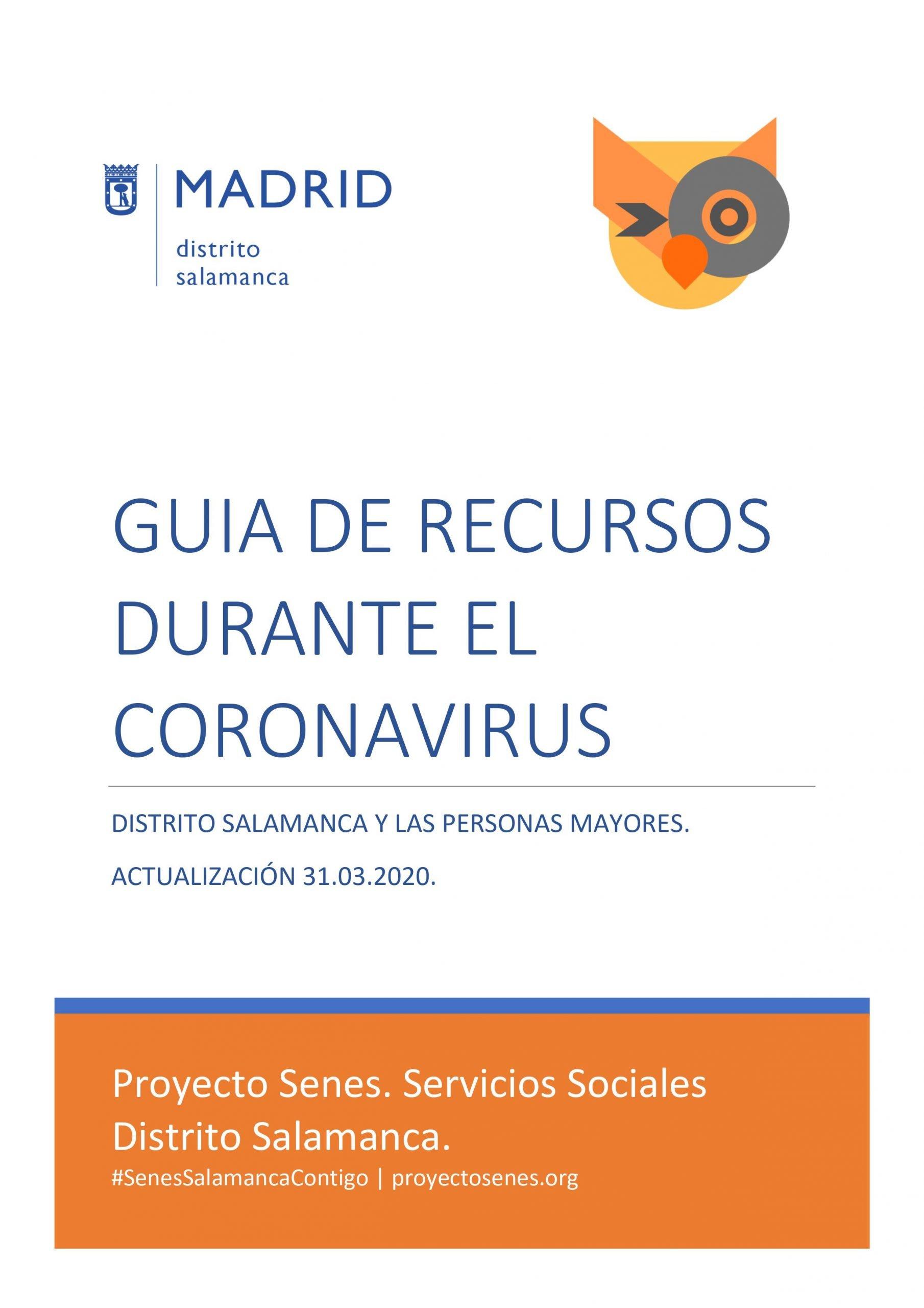 Guía recursos COVID-19