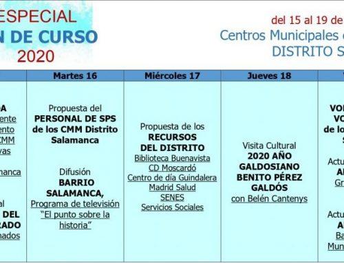 Especial Fin de Curso Centros Municipales de Mayores 2020