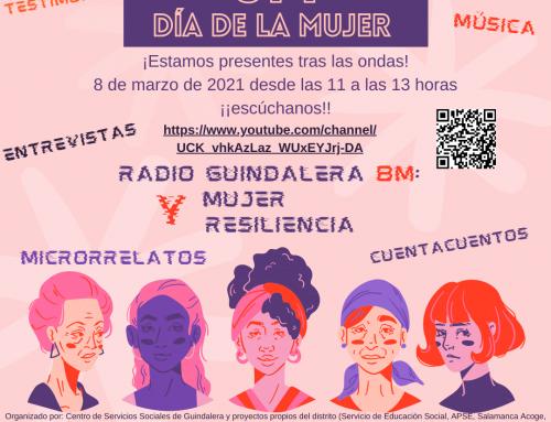 DÍA INTERNACIONAL DE LA MUJER EN RADIO GUINDALERA 8M